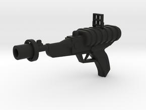 Lost in Space Season 1 Laser Pistol 1/6  in Black Premium Versatile Plastic