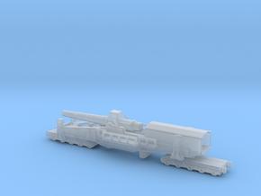 28 cm SKL / 40 (E) Railway artillery Bruno 1/144  in Smooth Fine Detail Plastic