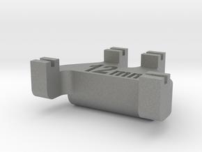 HOn3½ Track Gauge - Code 70 in Gray Professional Plastic