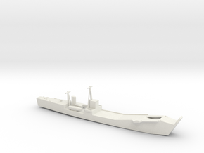 1/285 Scale IJN No 101 Landing Ship Tank in White Natural Versatile Plastic
