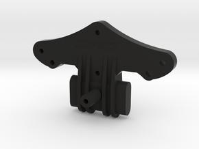 ORV Bulkhead with Ribs in Black Natural Versatile Plastic