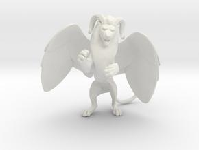 wingedwithmane in White Natural Versatile Plastic