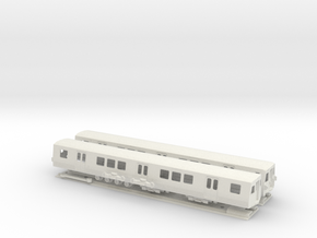 HO Scale Washington DC Metro 7000 (2) in White Natural Versatile Plastic