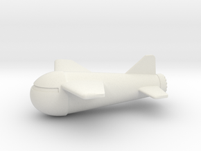(1:144) Gotha Rammer in White Natural Versatile Plastic