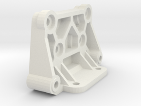 tamiya astute rear shock tower holder in White Natural Versatile Plastic
