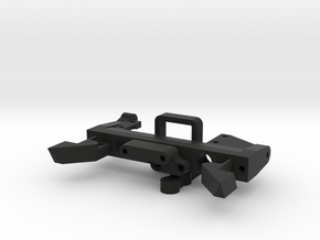 Venture Servo and Scale Driveline Mounts Nest in Black Natural Versatile Plastic