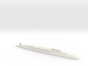Borei-Class SSBN, 1/1250 in White Natural Versatile Plastic