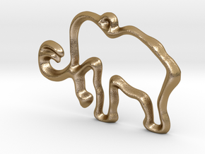 Mammoth! in Polished Gold Steel