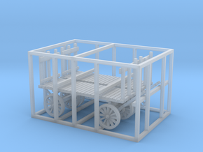 HO scale REA cart in Smooth Fine Detail Plastic