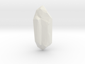 crystal_v01_JSweetin in White Natural Versatile Plastic: Extra Small