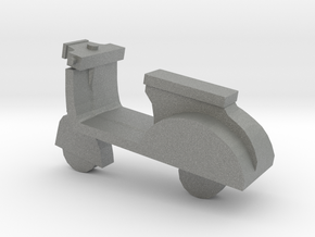 Miniature Scooter in Gray Professional Plastic