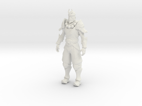 Printle V Homme 1761 - 1/24 - wob in White Natural Versatile Plastic