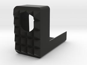 Frame Mounted Breacher for G17 G18 G19 M&P40 M&P9 in Black Natural Versatile Plastic