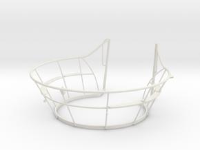 1/11 DKM UBoot VIICWintergarten in White Natural Versatile Plastic