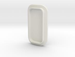 Large Tank Small Insert in White Natural Versatile Plastic