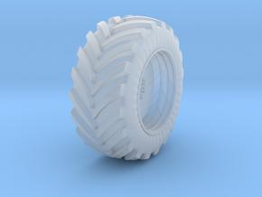 rear wheel 1 in Smooth Fine Detail Plastic