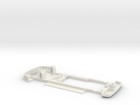 Chassis for Proslot Alfa Romeo 156 in White Natural Versatile Plastic
