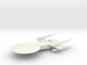 Excelsior Class Study Model Variant  in White Natural Versatile Plastic