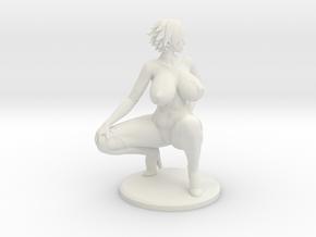 Aimsee Booty - 4'' Versatile Plastic in White Natural Versatile Plastic