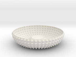 Bowl GRNT1010 in White Natural Versatile Plastic