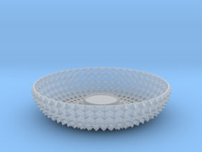 Bowl GRNT1010 in Smooth Fine Detail Plastic