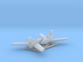 (1:285) (x2) Japanese Rammer Project in Smooth Fine Detail Plastic