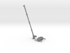 Grove 700E Crane Extended in Gray Professional Plastic: 1:500
