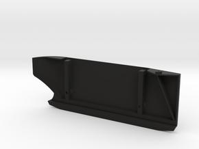 Honcho Chisel Slider Left Side in Black Natural Versatile Plastic