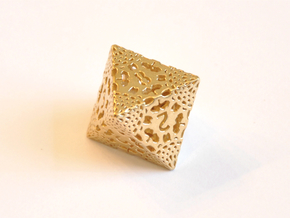 D8 Balanced - Lace in Natural Brass