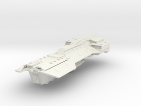 UNSC Phoenix Support Vessel in White Natural Versatile Plastic