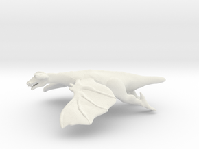 Omni Scale Space Dragon Young Male MGL in White Natural Versatile Plastic
