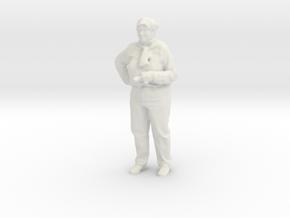 Printle C Femme 702 - 1/32 - wob in White Natural Versatile Plastic