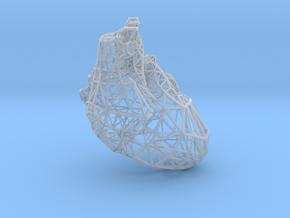 Lattice heart in Smooth Fine Detail Plastic