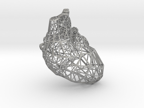Lattice heart in Aluminum