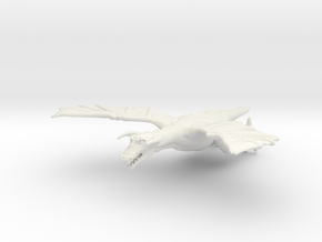 Omni Scale Space Dragon Adult Male MGL in White Natural Versatile Plastic