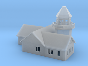 'N Scale' - Home on Pier in Smooth Fine Detail Plastic
