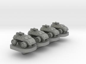 Legionaire Light Wheeled Unit - 3mm in Gray PA12