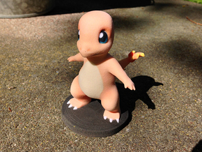 Charmander in Full Color Sandstone