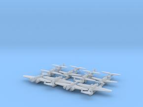 PZL Aircraft x12 (FUD) in Smooth Fine Detail Plastic: 1:700