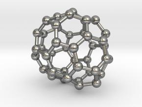 0694 Fullerene c44-66 c1 in Natural Silver