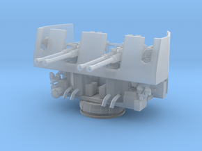 1/96 USN 40mm Quad Bofors in Smooth Fine Detail Plastic