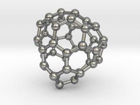 0699 Fullerene c44-71 cs in Natural Silver