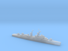 1/1800 Scale Forrest Sherman Class Mod Destroyer in Smooth Fine Detail Plastic