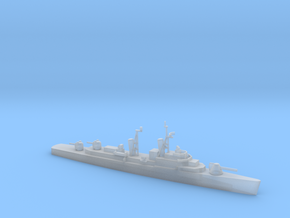 1/1800 ScaleUSS Hull DD-945 with 8 inch Gun 1975 in Smooth Fine Detail Plastic