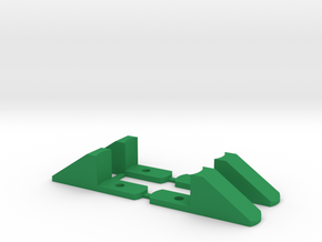 Shock Slider for comp crawler in Green Processed Versatile Plastic