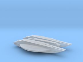 Magee Class - Attack Wing / 4.6cm - 1.8in in Smooth Fine Detail Plastic