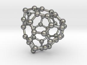 0701 Fullerene c44-73 t in Natural Silver