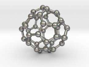 0703 Fullerene c44-75 d2 in Natural Silver