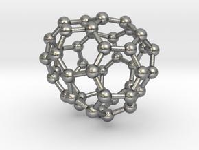 0710 Fullerene c44-82 s4 in Natural Silver