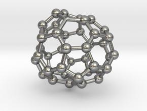 0716 Fullerene c44-88 c1 in Natural Silver